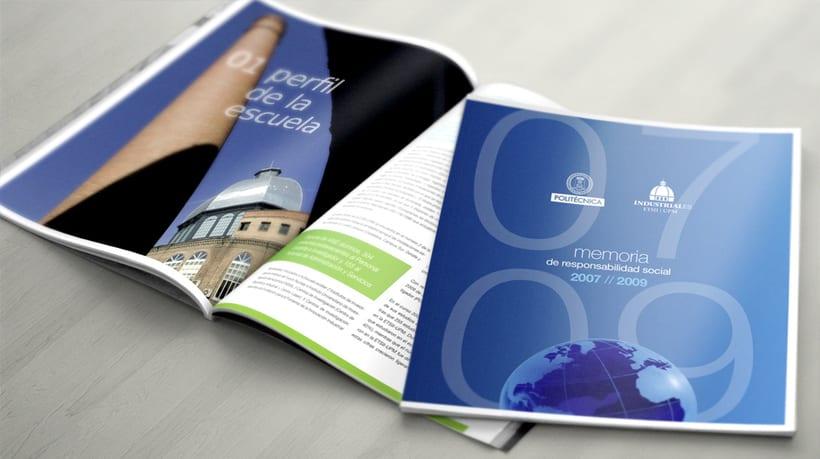 Imagen Corporativa para la Escuela de Industriales de Madrid ETSII-UPM 7