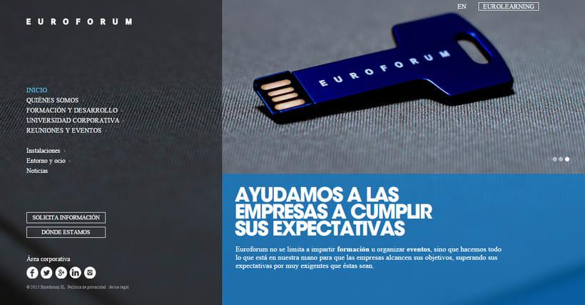 Fotografías conceptuales para la web de Euroforum España. 0