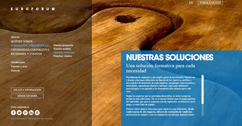 Fotografías conceptuales para la web de Euroforum España. 1