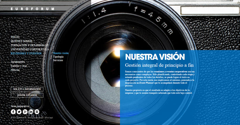 Fotografías conceptuales para la web de Euroforum España. 4