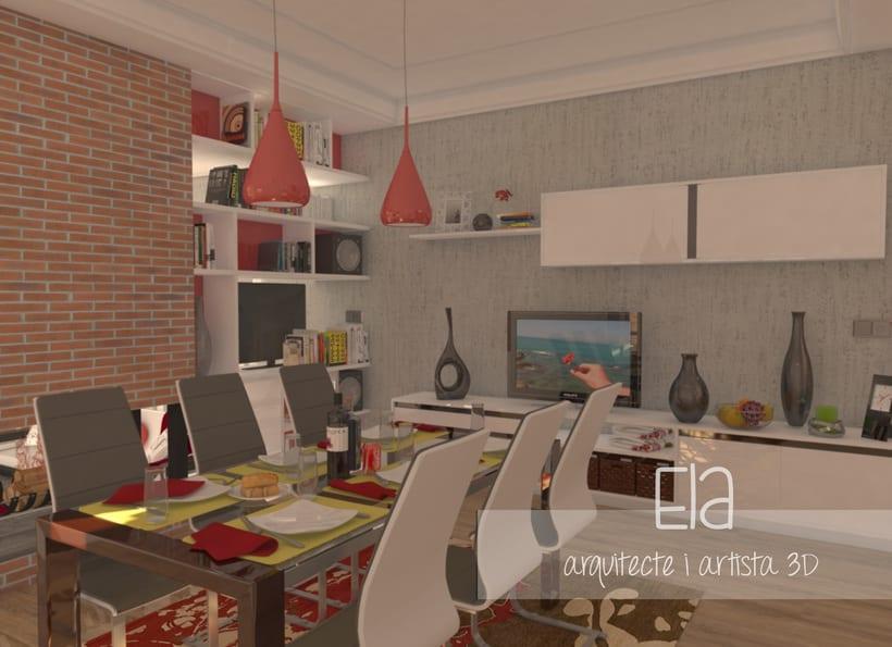 Propuesta de dise o interior para una casa unifamiliar for Studio 84 diseno de interiores