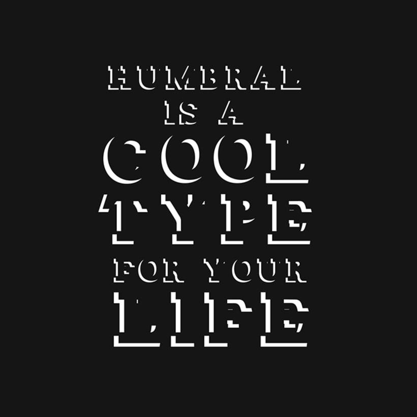 Humbral Slab Free Font 5