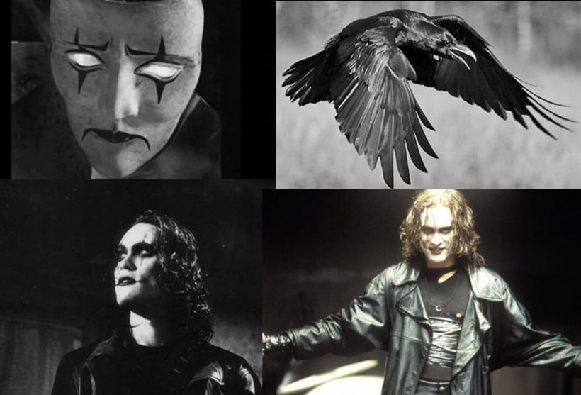"""it can't rain all the time"" The crow poster tribute 0"