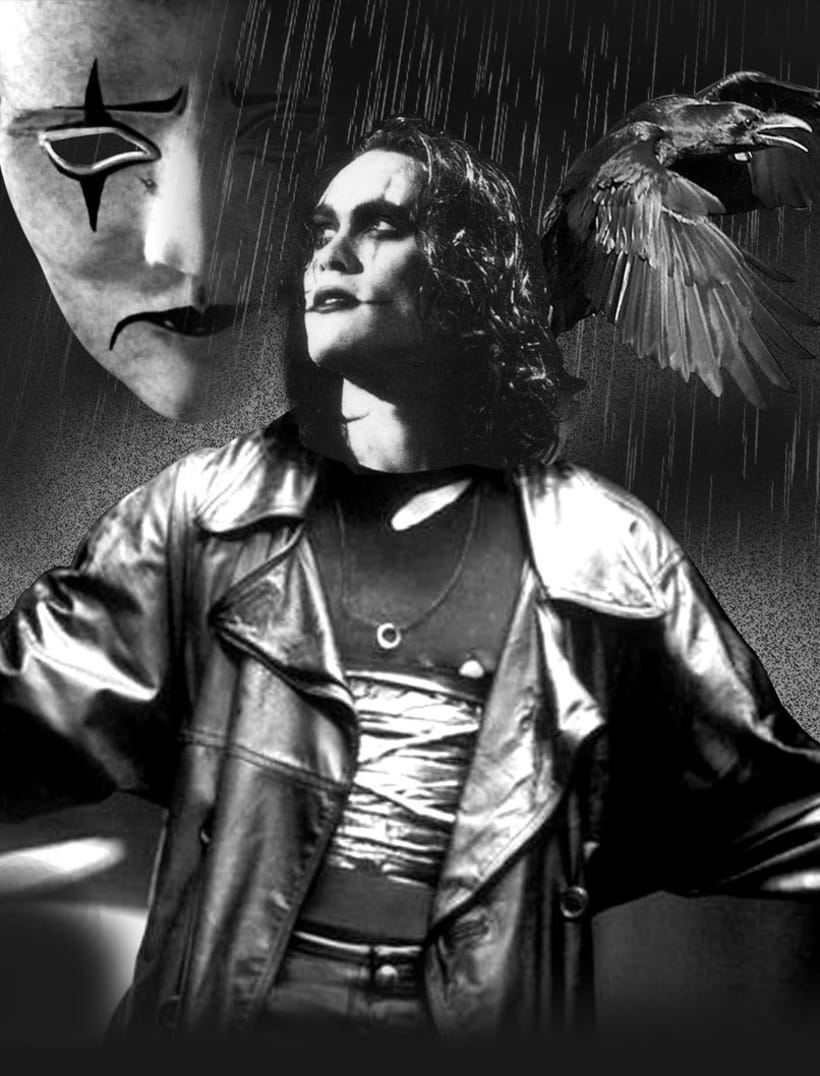 """it can't rain all the time"" The crow poster tribute 1"