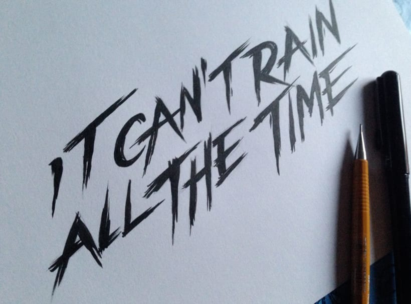 """it can't rain all the time"" The crow poster tribute 5"