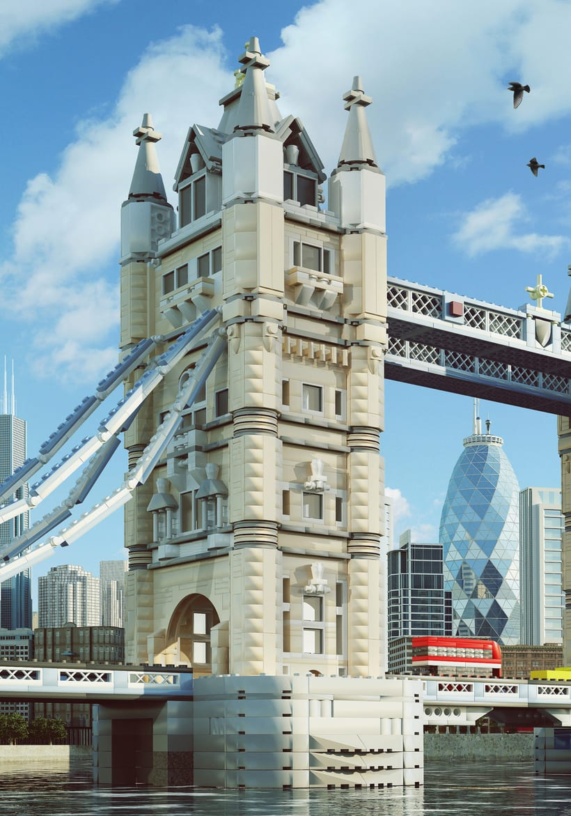 Lego London Bridge 0