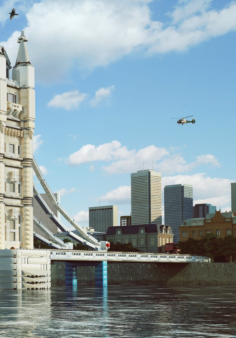 Lego London Bridge 1