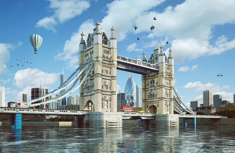 Lego London Bridge 3