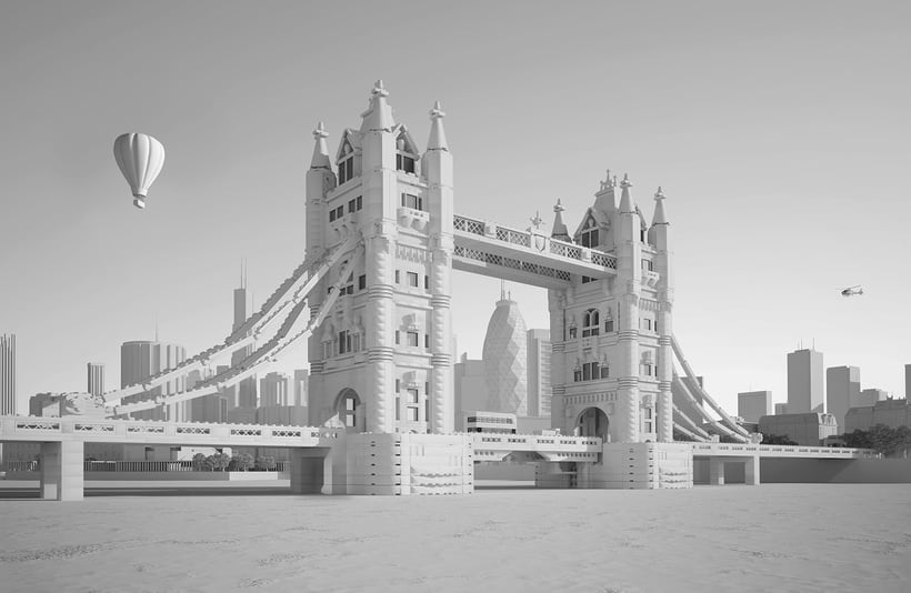 Lego London Bridge 4