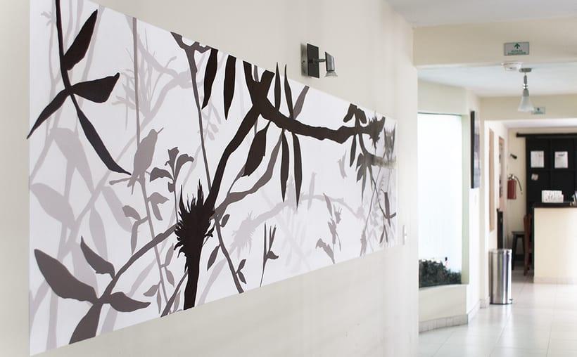 Wall Painting Design / Dental Plus Clinic | Domestika