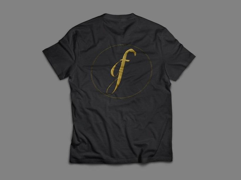 Golden Flamingo- Logo+ Tarjetas de Visita+ Sello 3