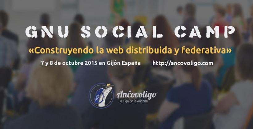 7 y 8 de Octubre 2015: GNU Social Camp 1