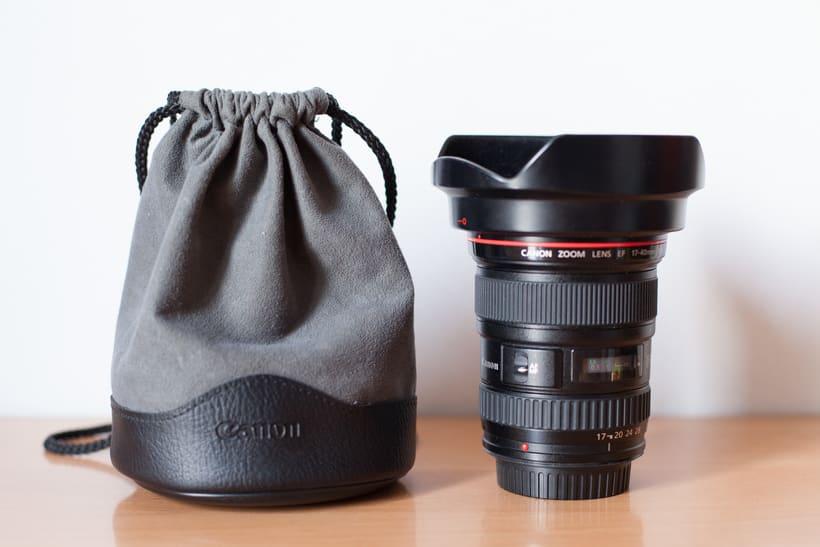 Vendo Canon 17-40 f4 serie L 1