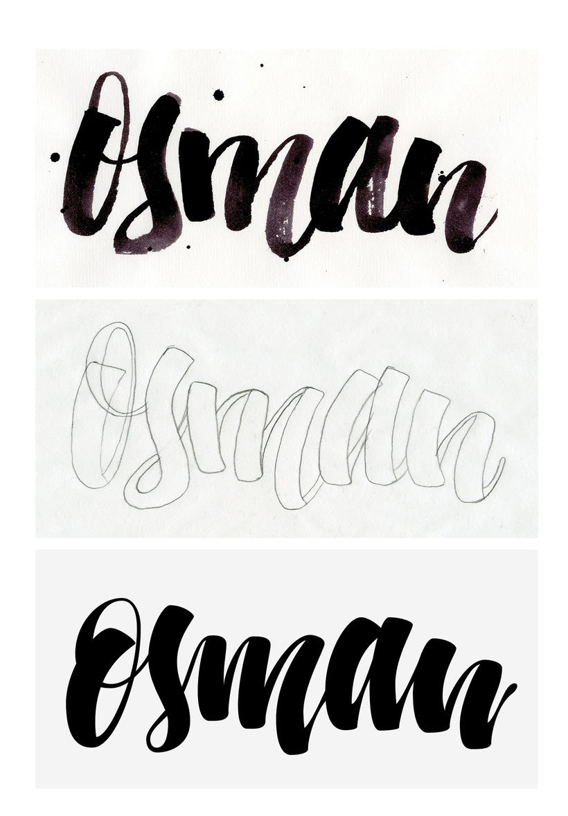 Osman Lettering and motion 2