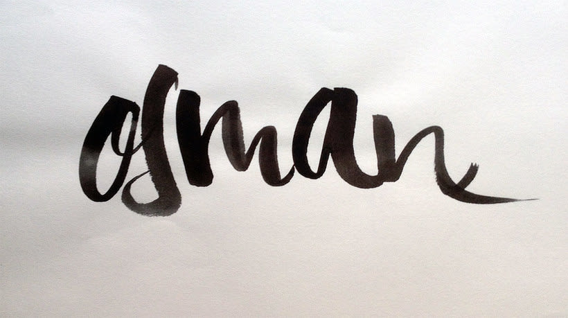 Osman Lettering and motion 10