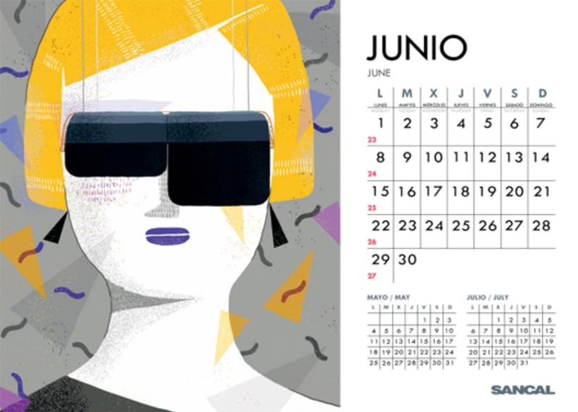 Calendario SANCAL 2015 12