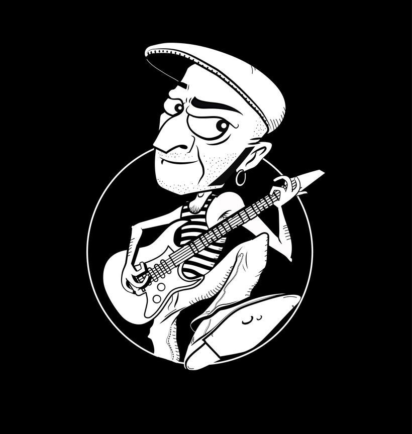Ilustración - Blanco y Negro 6