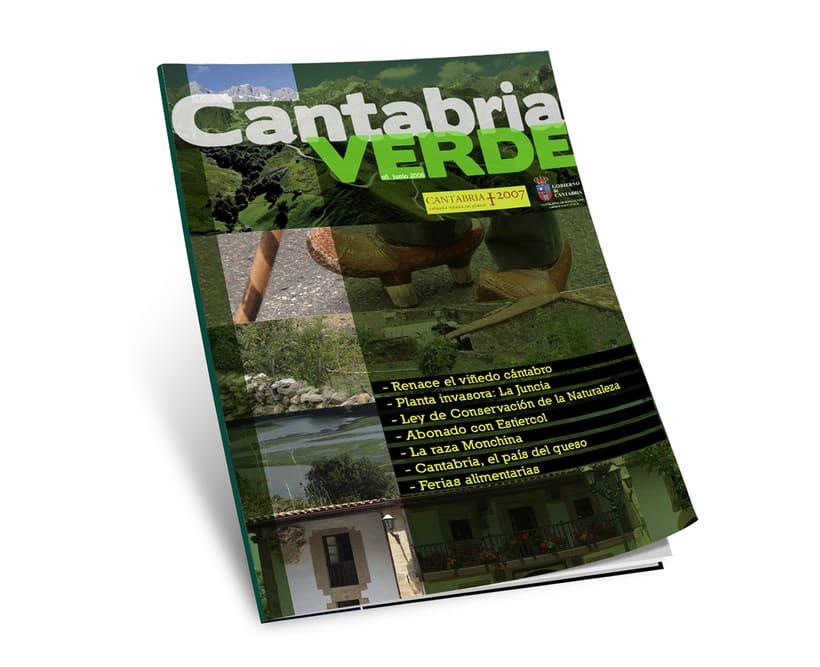 """Revista """"Cantabria Verde"""" 0"""