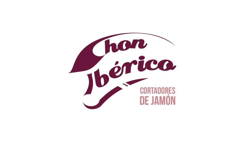 """Logotipo y desarrollo de imagen de """"Chon Ibérico"""" 0"""