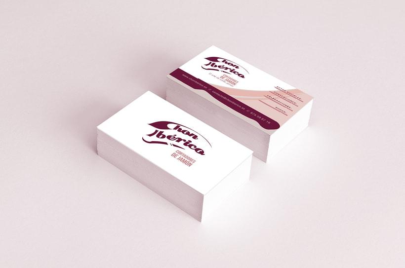 """Logotipo y desarrollo de imagen de """"Chon Ibérico"""" 2"""