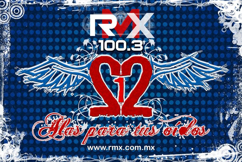 212 evento de rock por medio de RMX 3