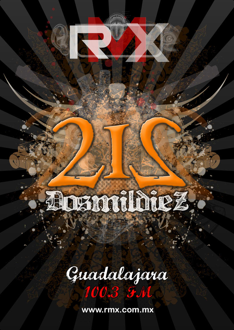 212 evento de rock por medio de RMX 5