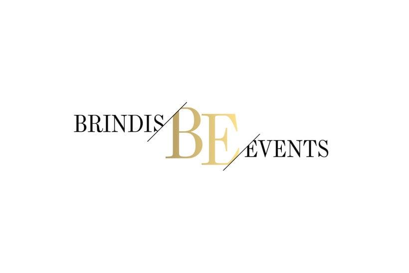 Logotipo Brindis Events -1