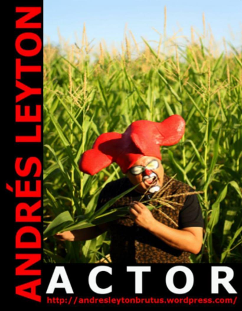 Andrés Leyton / Actor / Gráfica 2