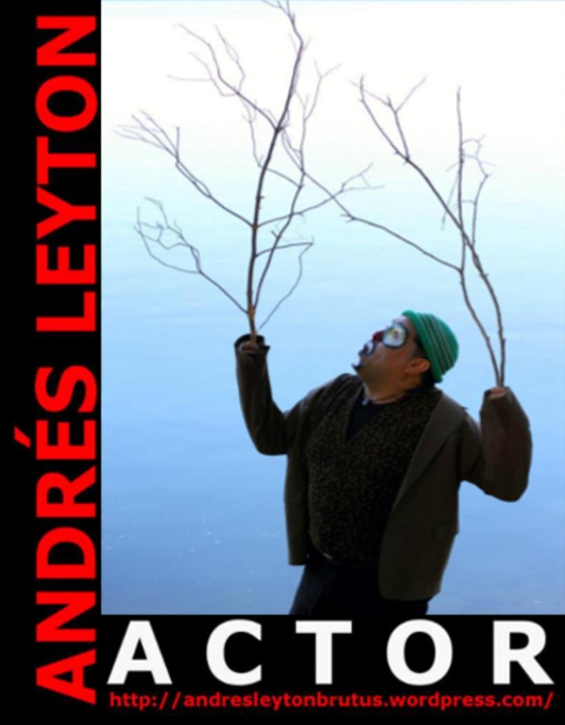 Andrés Leyton / Actor / Gráfica 3