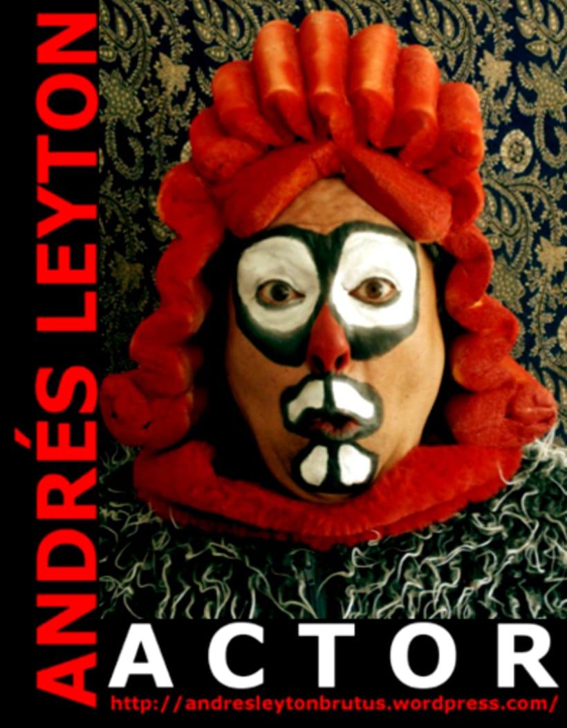Andrés Leyton / Actor / Gráfica 4