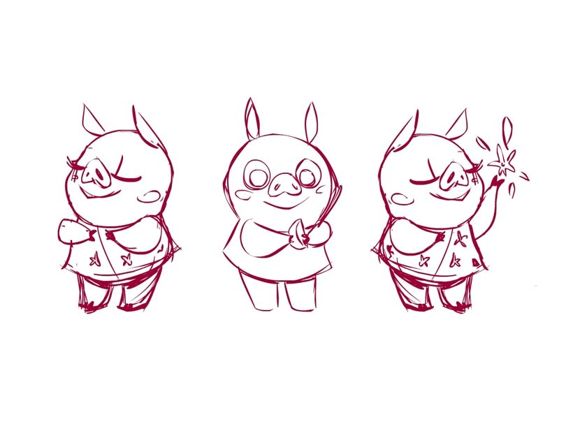 Character Design- 3 Little Pigs 3