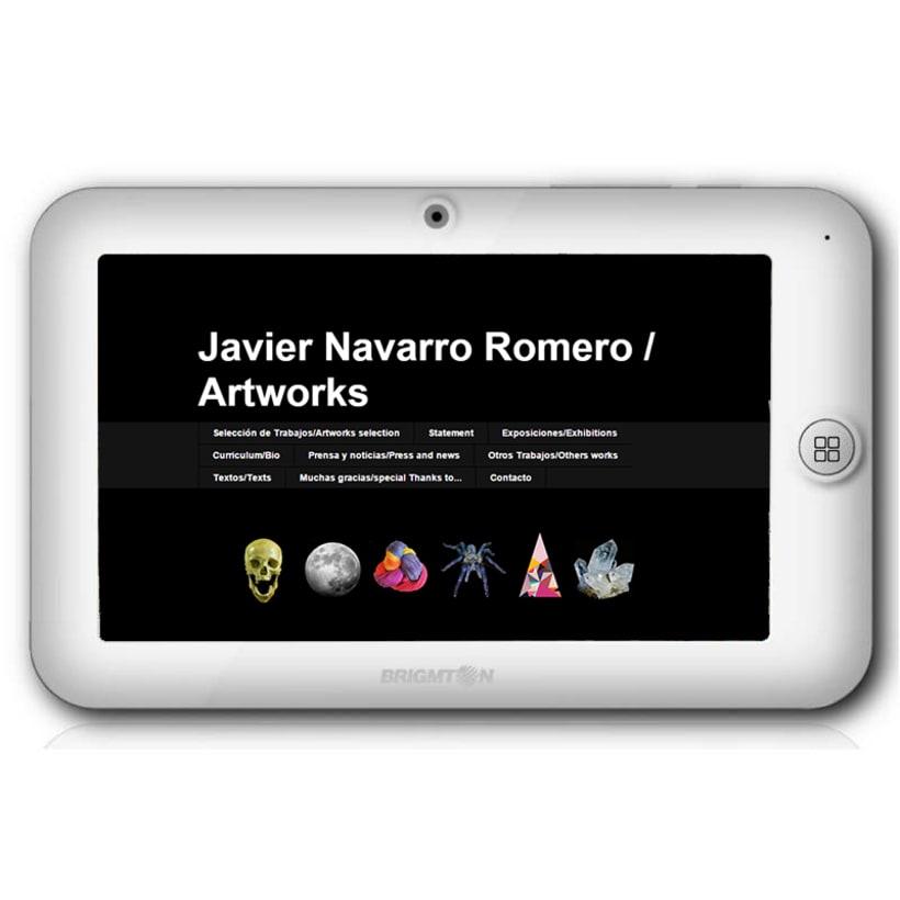 Página web Javier Navarro  Romero  0