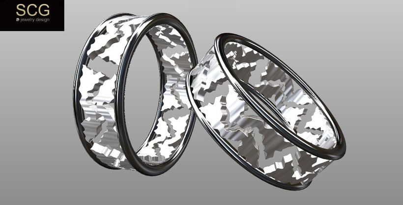 Más diseños de la colección de alianzas de boda... 1