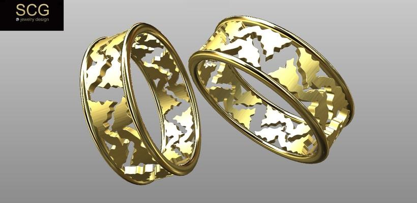 Más diseños de la colección de alianzas de boda... 3