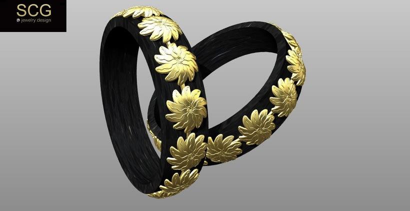 Más diseños de la colección de alianzas de boda... 4