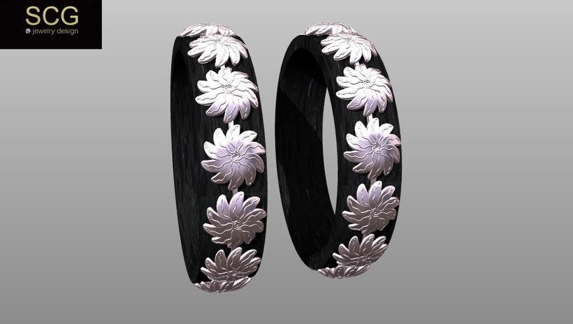 Más diseños de la colección de alianzas de boda... 5