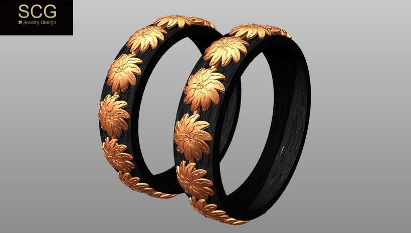 Más diseños de la colección de alianzas de boda... 6