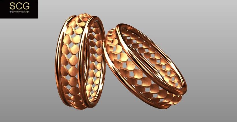 Más diseños de la colección de alianzas de boda... 7