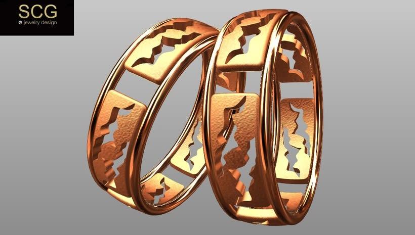 Más diseños de la colección de alianzas de boda... 10