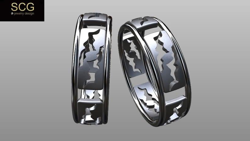 Más diseños de la colección de alianzas de boda... 12