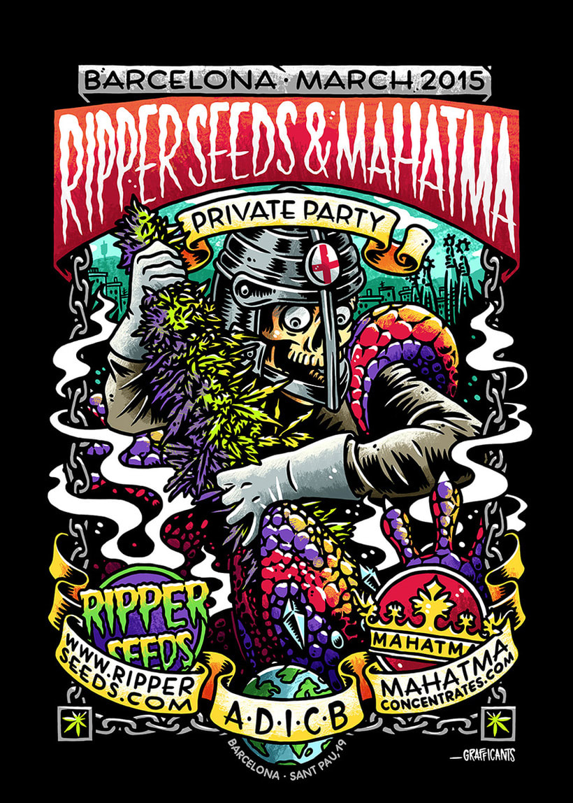 Ripper Seeds & Mahatma Private Party -1