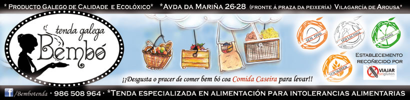 Material Publicitario para Tenda Galega Bembó 5