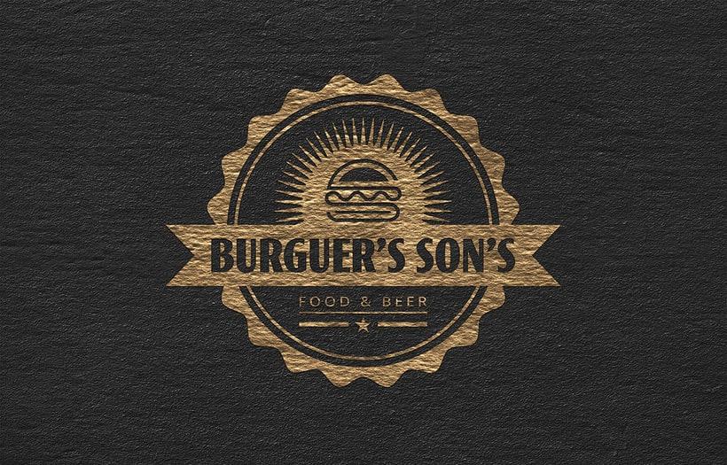 LOGOTIPO - Burguer's Son's 1