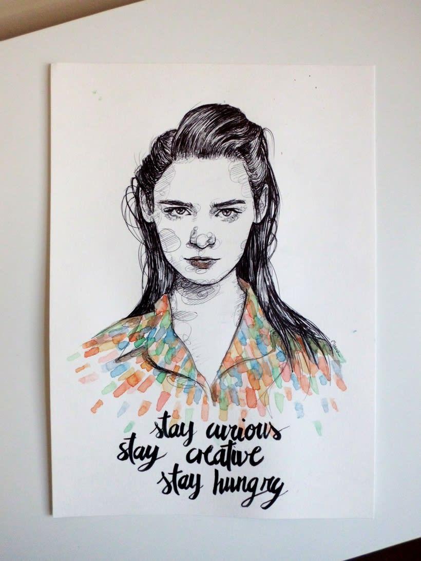 Watercolour-Portraits 2 1