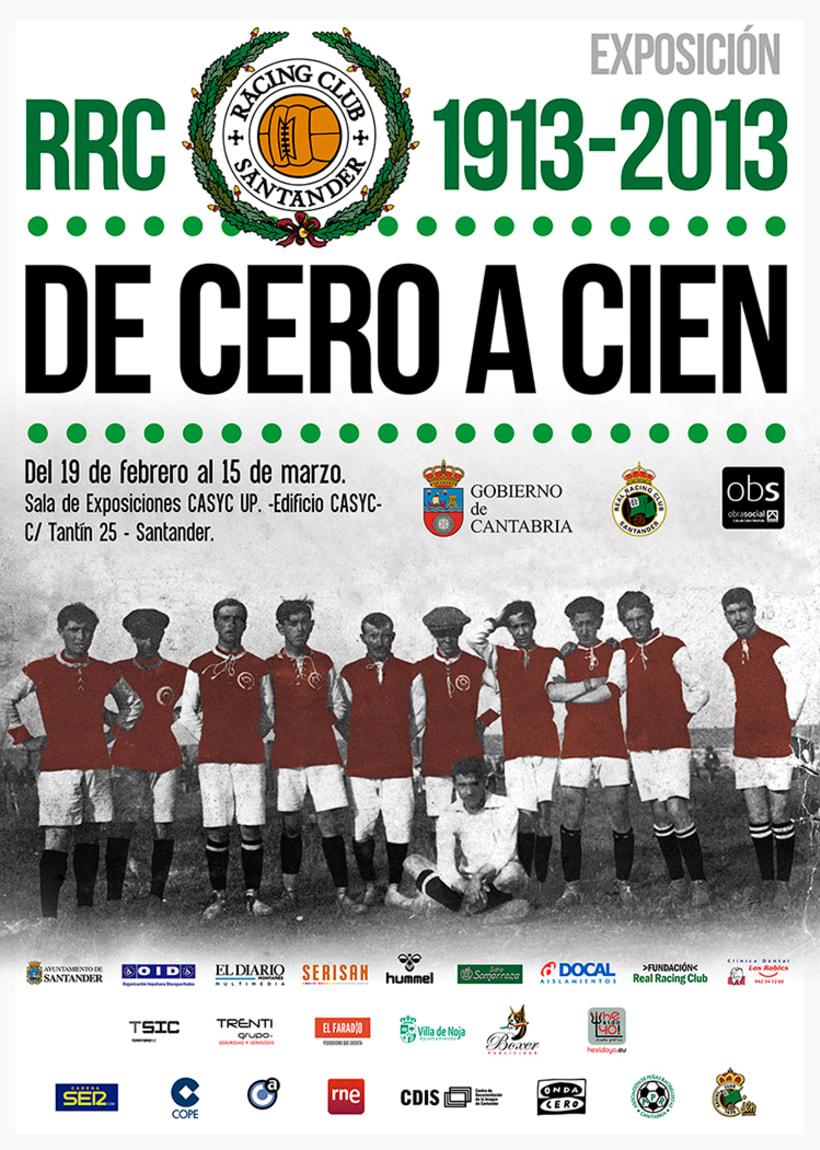EXPOSICIÓN Centenario Real Racing Club -De Cero a Cien-Nuevo proyecto 0
