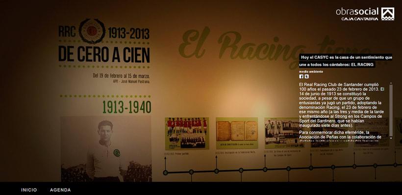 EXPOSICIÓN Centenario Real Racing Club -De Cero a Cien-Nuevo proyecto 4
