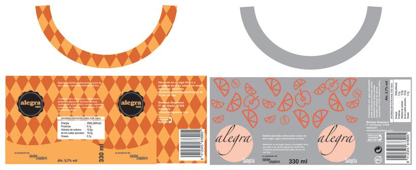 Alegra Sangria - Packaging 0