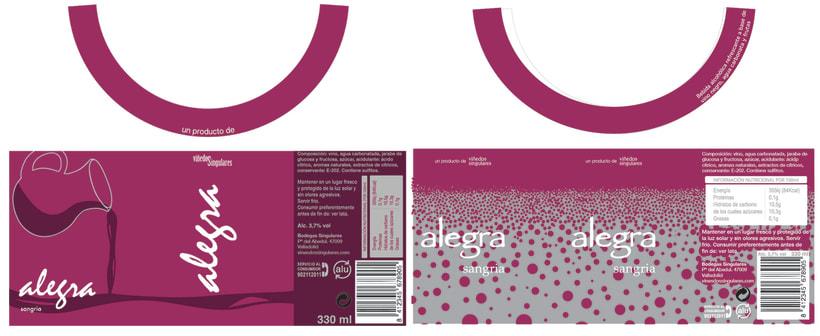 Alegra Sangria - Packaging 1