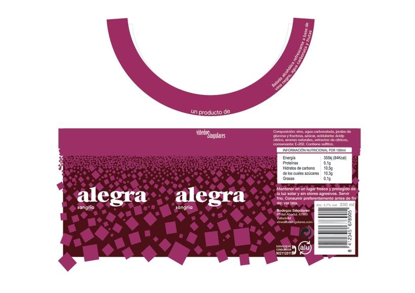 Alegra Sangria - Packaging 2
