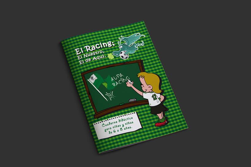 Manuales infantiles -EL RACING; el nuestro, el de aquí-Nuevo proyecto 0